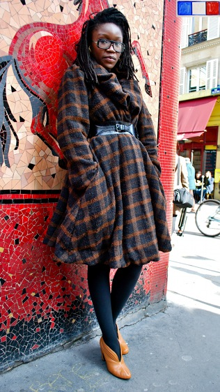 Designer From Sierra Leone And Wool Coat High Waisted