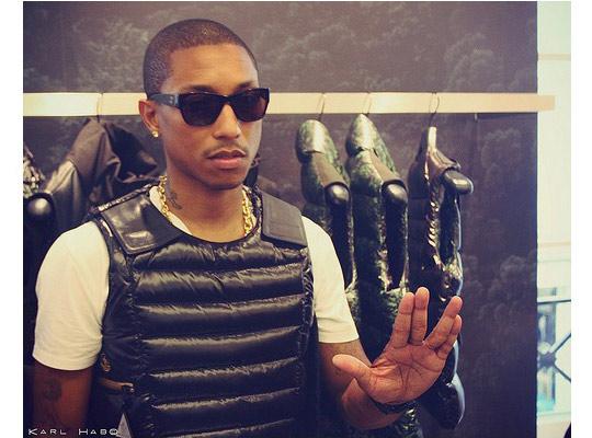 Pharrell Williams X Moncler Moncler V Vests At Colette